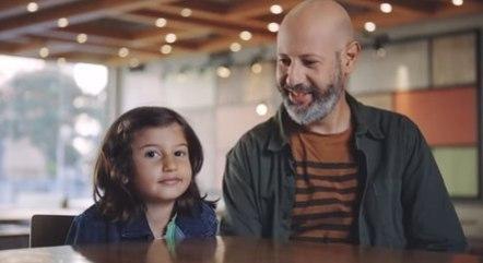 Propaganda do Burger King com crianças