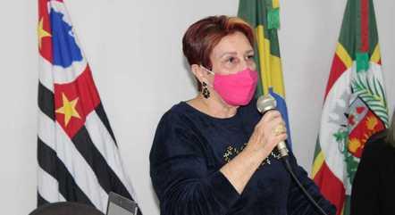 Edna Macedo esteve no interior de São Paulo