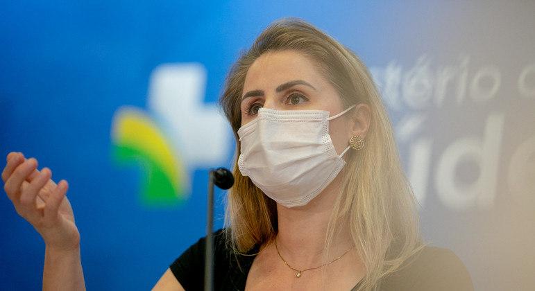 Francieli era coordenadora-geral do PNI (Programa Nacional de Imunizações)
