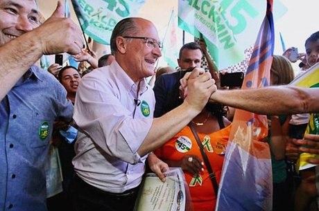 Geraldo Alckmin fez carreata em São Paulo