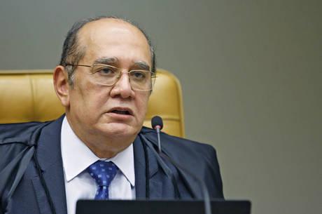 Na imagem, ministro Gilmar Mendes