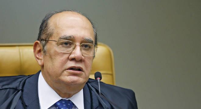 Na imagem, ministro do STF (Supremo Tribunal Federal) Gilmar Mendes