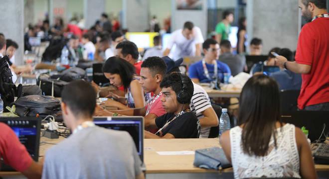 A expectativa é que cerca de 90 mil pessoas visitem a Campus Party