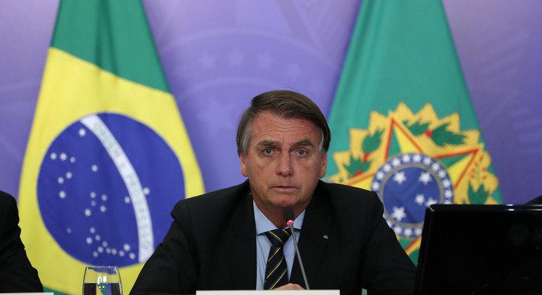 Presidente Bolsonaro já foi aliado político do senador Major Olímpio, que faleceu por conta da covid-19