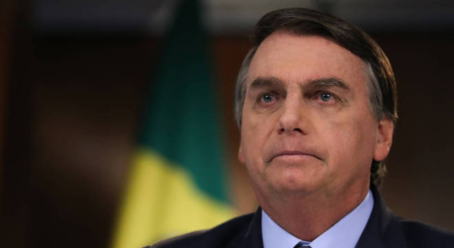 O presidente Jair Bolsonaro, que tem 50% de aprovação
