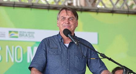 """""""Essa obra vale o futuro de uma geração"""", disse Bolsonaro"""