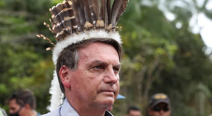 Bolsonaro esteve em São Gabriel da Cachoeira (AM) na última quinta-feira (27)