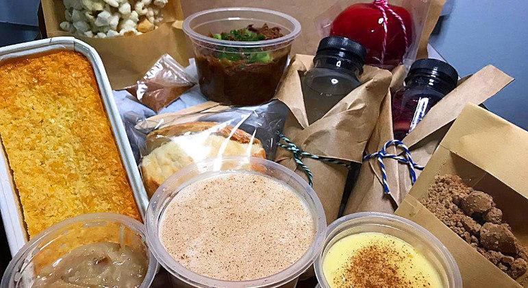 Kit junino para degustar em casa é alternativa para provar os sabores juninos sem aglomeração