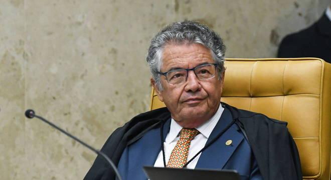 O ministro do STF Marco Aurélio de Mello