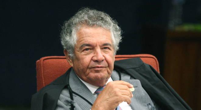 O ministro do STF (Supremo Tribunal Federal) Marco Aurélio de Mello