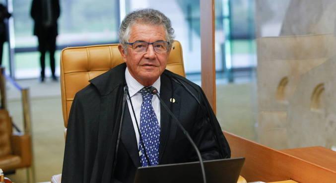 O ministro Marco Aurélio Mello, decano do STF (Supremo Tribunal Federal),