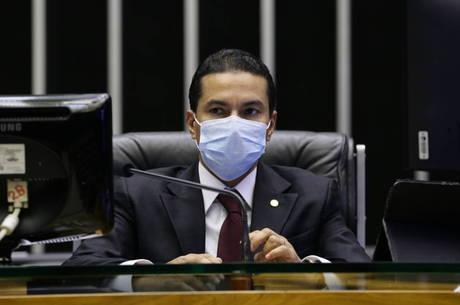 Marcos Pereira esteve em Francisco Mourato (SP)