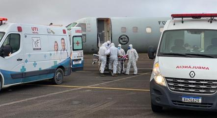 Equipe médica local decide quem será transferido