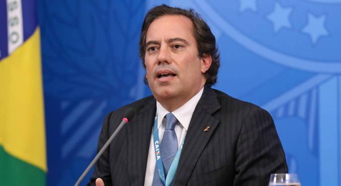 O presidente da Caixa, Pedro Guimarães, que vai anunciar redução de juros