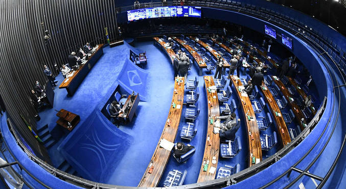 Quase R$ 61 mil serão usados para lavar cortinas, sofás e tapetes de senadores