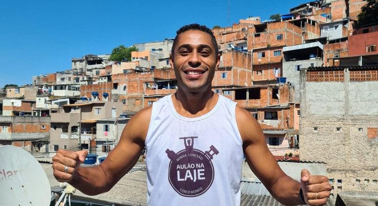 Ivan Nascimento botou todo mundo para mexer o corpo durante a pandemia
