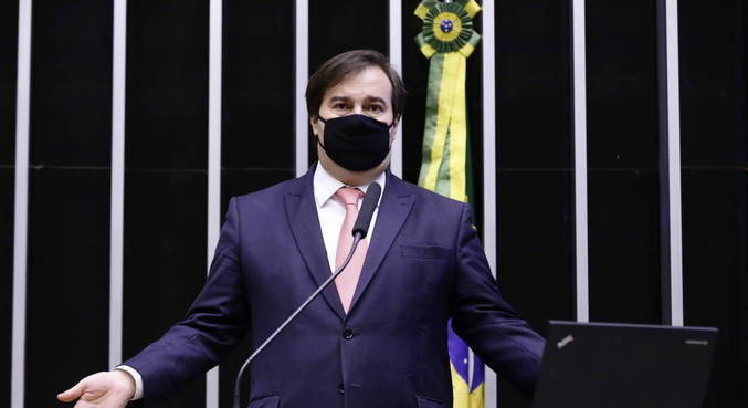 O presidente da Câmara, deputado Rodrigo Maia (DEM-RJ)