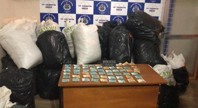 Suspeitos entraram em contradição quanto às drogas encontradas