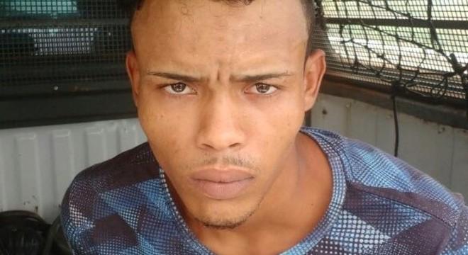 Marcos William Cruz de Sousa, suspeito de tráfico de drogas
