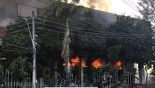 Incêndio em Fortaleza atinge o Tribunal de Justiça do Ceará