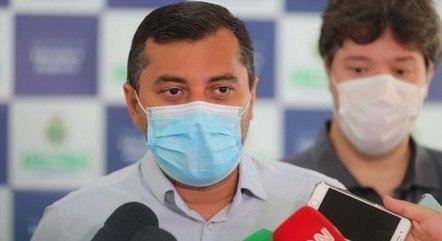 O governador do Amazonas, Wilson Lima (PSC), será convocado para depor na CPI da Covid no Senado