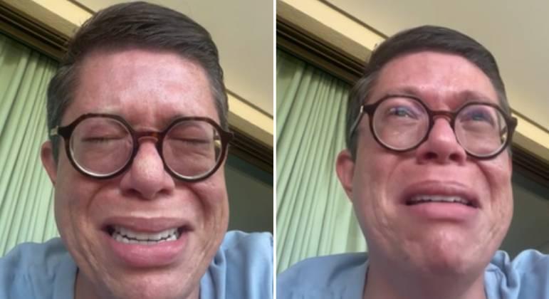 Em vídeo, DJ Ivis chora e pede perdão à ex-mulher: 'Me derrubei'