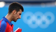 'Não me arrependo de vir aos Jogos', diz Djokovic após derrota