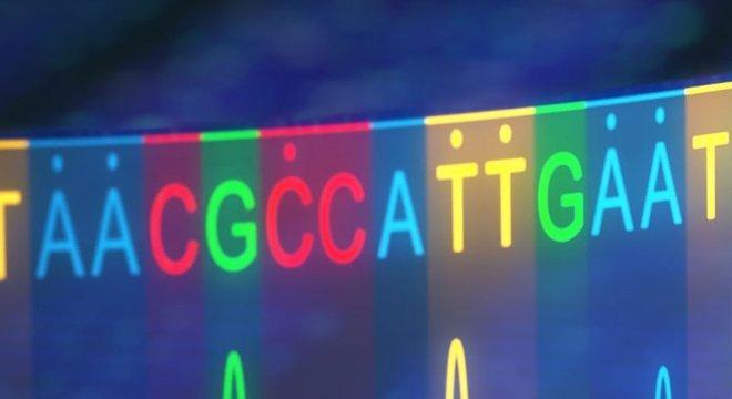 Nosso código genético é representado pelas letras A, C, G e T