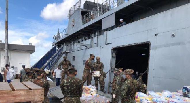 Doações de alimentos e produtos de higiene são levadas ao Marajó (PA)