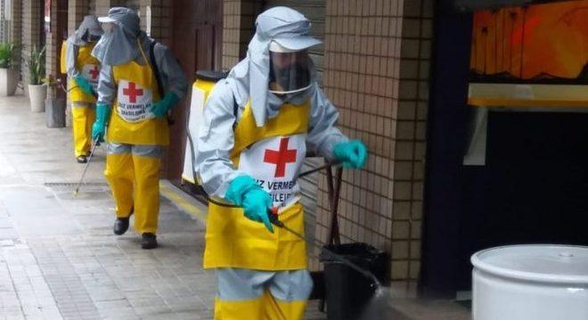 A Nestlé está doando uma grande soma para ajudar a Cruz Vermelha Brasileira no combate à pandemia de covid-19