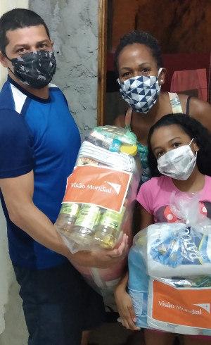 54 mil cestas de alimentos foram doadas