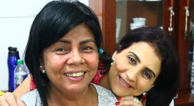 A doadora do rim Roseli e a receptora Cátia, que agora tem três rins