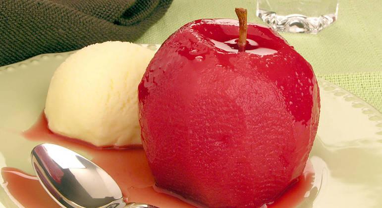 Doces com frutas