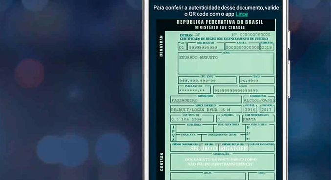 Contran autoriza digitalização de documentos de registro