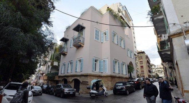Documentos judiciais apontam esta casa como sendo de posse de Carlos Ghosn em Beirute