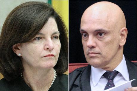 Moraes rejeito pedido feito por Raquel Dodge