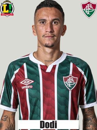DODI - 6,0 - Lutou muito para fazer a transição entre o meio e o ataque e conduzir o Fluminense à frente. No entanto, pecou em alguns momentos.