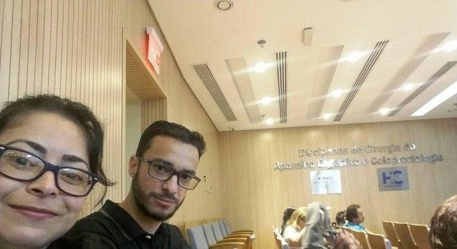 Mônica e Osmar se conheceram durante o tratamento no Hospital das Clínicas-SP