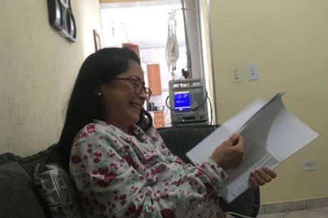 Doença não tira o riso de Mônica Nery
