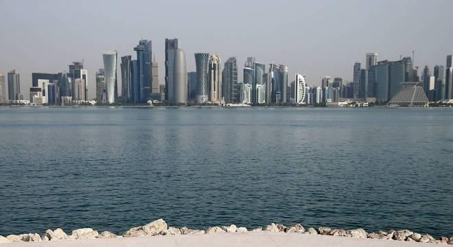 A ensolarada capital do Catar, Doha