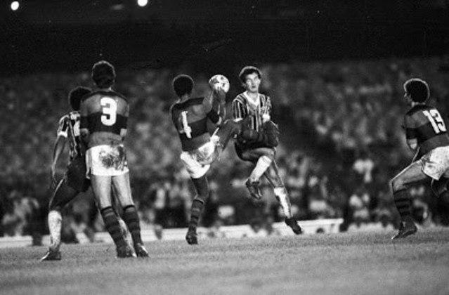 Dois anos após conquistar a Libertadores em sua primeira participação, o Flamengo acabou em segundo em um grupo com Grêmio (que se sagraria campeão), Bolívar e Blooming - ambos da Bolívia -, e foi eliminado na primeira fase do torneio.