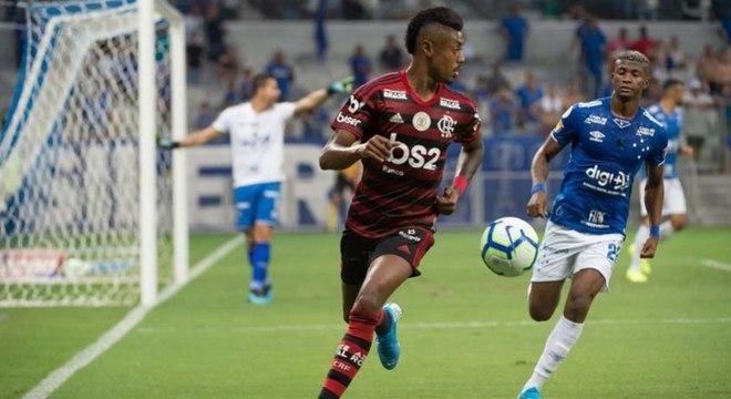 Flamengo e Cruzeiro pelo Campeonato Brasileiro de 2019
