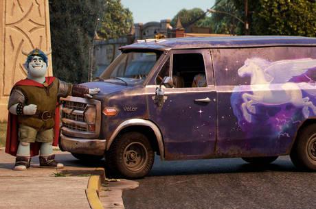 A van é um personagem por si só