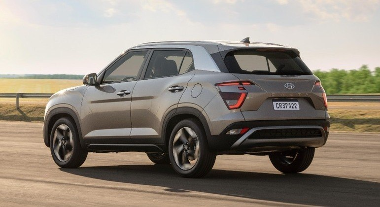 Hyundai Creta teve 4.550 unidades emplacadas em setembro