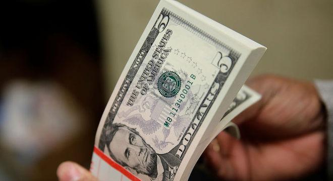 Moeda americana  fechou na nova máxima nominal, a R$ 4,3510