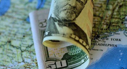 Dólar alcançou R$ 5,41 na máxima da sessão