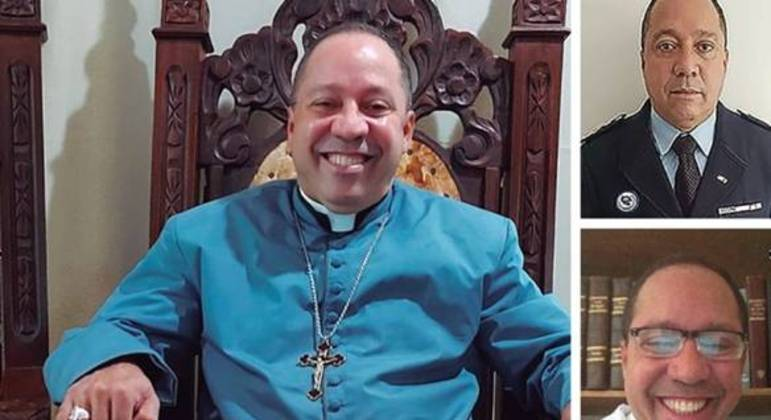 Roberto Cohen com vestimentas de padre, militar e médico para embasar histórias