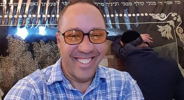 Roberto Cohen em viagem a Israel, em 2017