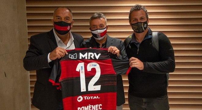 Braz e Spindel fizeram a seleção dos técnicos europeus. Apostaram em Domènec