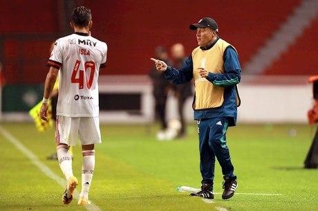 Dome dá instruções em goleada sofrida pelo Flamengo